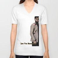 finn V-neck T-shirts featuring Finn by KL Design Solutions
