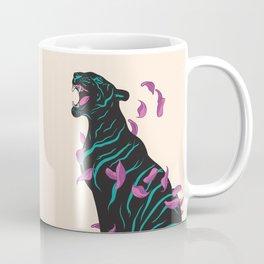 Black tiger Coffee Mug
