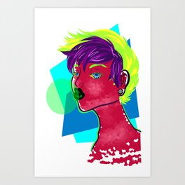 toxicity Art Print
