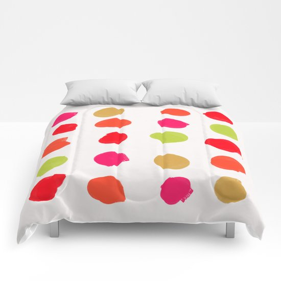 Strawberry Kiwi Comforters