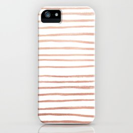Rosey Gold iPhone Case