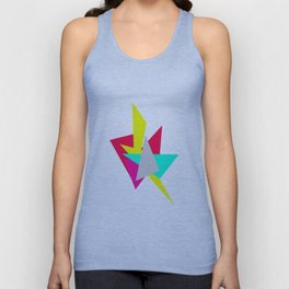 Colour Shards 01 Unisex Tank Top