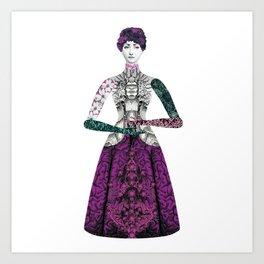 Portrait of a lady: Berenice Art Print