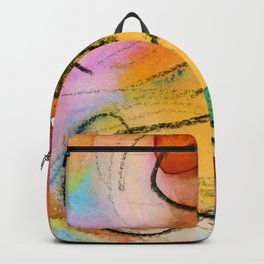 Abstract Nude Goddess 11 by Kathy Morton Stanion Backpack