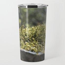 Moss Under Battle Creek Falls Travel Mug