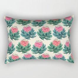 Protea flower garden Rectangular Pillow