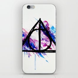 Deathly Hallows iPhone Skin