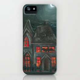 Spooky House iPhone Case
