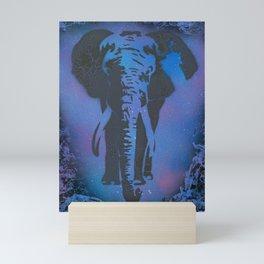 Galaxy Elephant Mini Art Print
