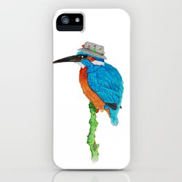 The Kingfisher iPhone Case
