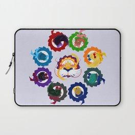 Spinning Senshi - Eternal + Supers Laptop Sleeve