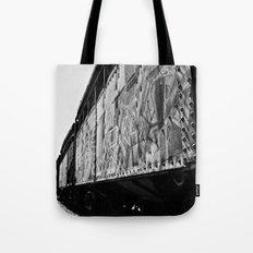 Train car aesthetics Tote Bag