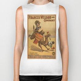 Vintage poster - The Little Corporal Biker Tank