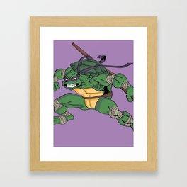 Donatello Framed Art Print