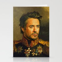 actor Stationery Cards featuring Robert Downey Jr. - replaceface by replaceface