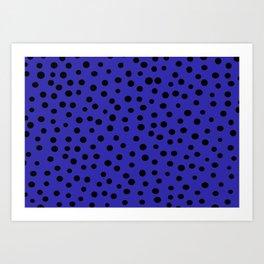 Queen of Polka Dots Art Print