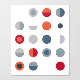 Bot Dot Canvas Print