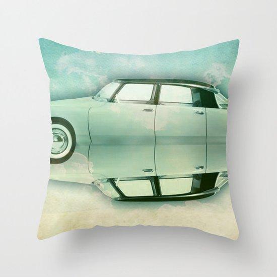 Siamese citroen Throw Pillow