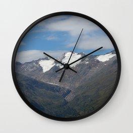 obergurgl tirol alps Wall Clock
