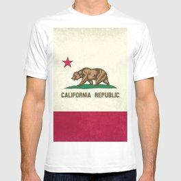 California Republic Flag T-shirt