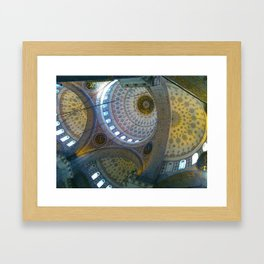 New Mosque, Istanbul Framed Art Print