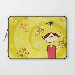 Leave Me Alone Laptop Sleeve