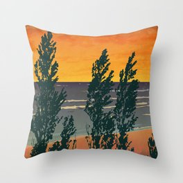 Pinery Provincial Park Poster Throw Pillow