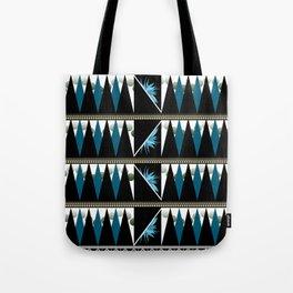 Blue Shapes Fanatasy Tote Bag