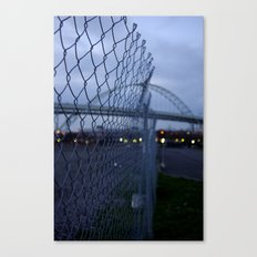 Fremont Fence Canvas Print