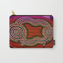 Aboriginal Art Carry-All Pouch