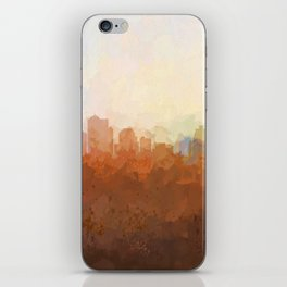 Kansas City, Missouri Skyline - In the Clouds iPhone Skin