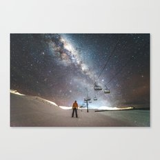 Lift me up to the stars Canvas Print