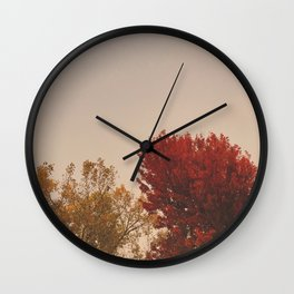 In the Fall Wall Clock