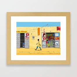 Kaolack Framed Art Print