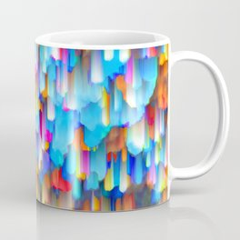 Colorful digital art splashing G397 Coffee Mug