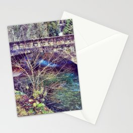Water under the bridge Stationery Cards