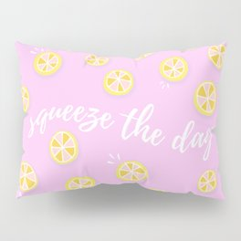 Squeeze The Day | Lemons Pillow Sham