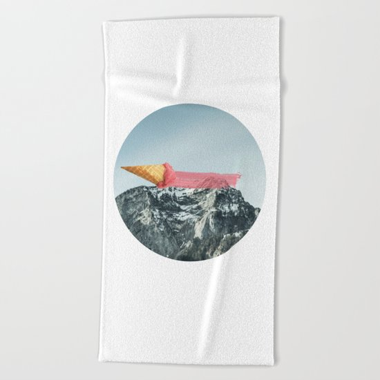 On the top Beach Towel