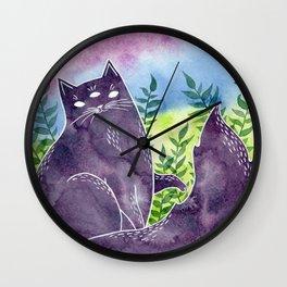 Abigail the Psychic Cat Wall Clock