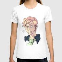dramatical murder T-shirts featuring Dramatical Murder: Noiz by Laura Mansfield