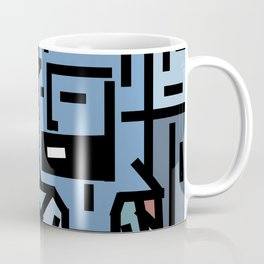 The sad hipster and the copper mosquito Coffee Mug