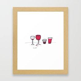 My glass Framed Art Print