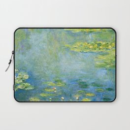 1906-Claude Monet-Waterlilies-73 x 92 Laptop Sleeve