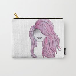 365 cabelos - pink Carry-All Pouch