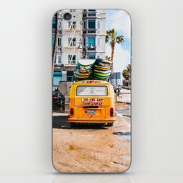 Combi van surf 3 iPhone Skin