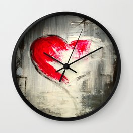 Remember love 2 Wall Clock
