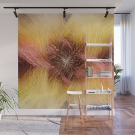 Cosmic flower | in the cosmos Wall Mural