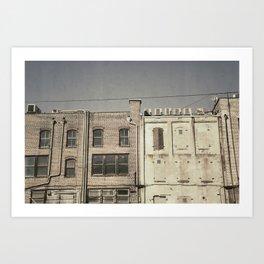 Strolling in Savannah Art Print