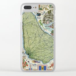 Barbados Clear iPhone Case