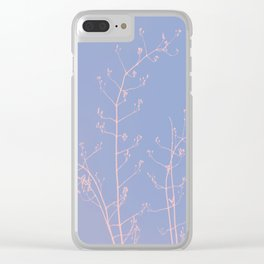 Serenity of Rose Jasmine Clear iPhone Case